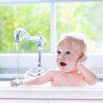 お風呂とあかちゃん
