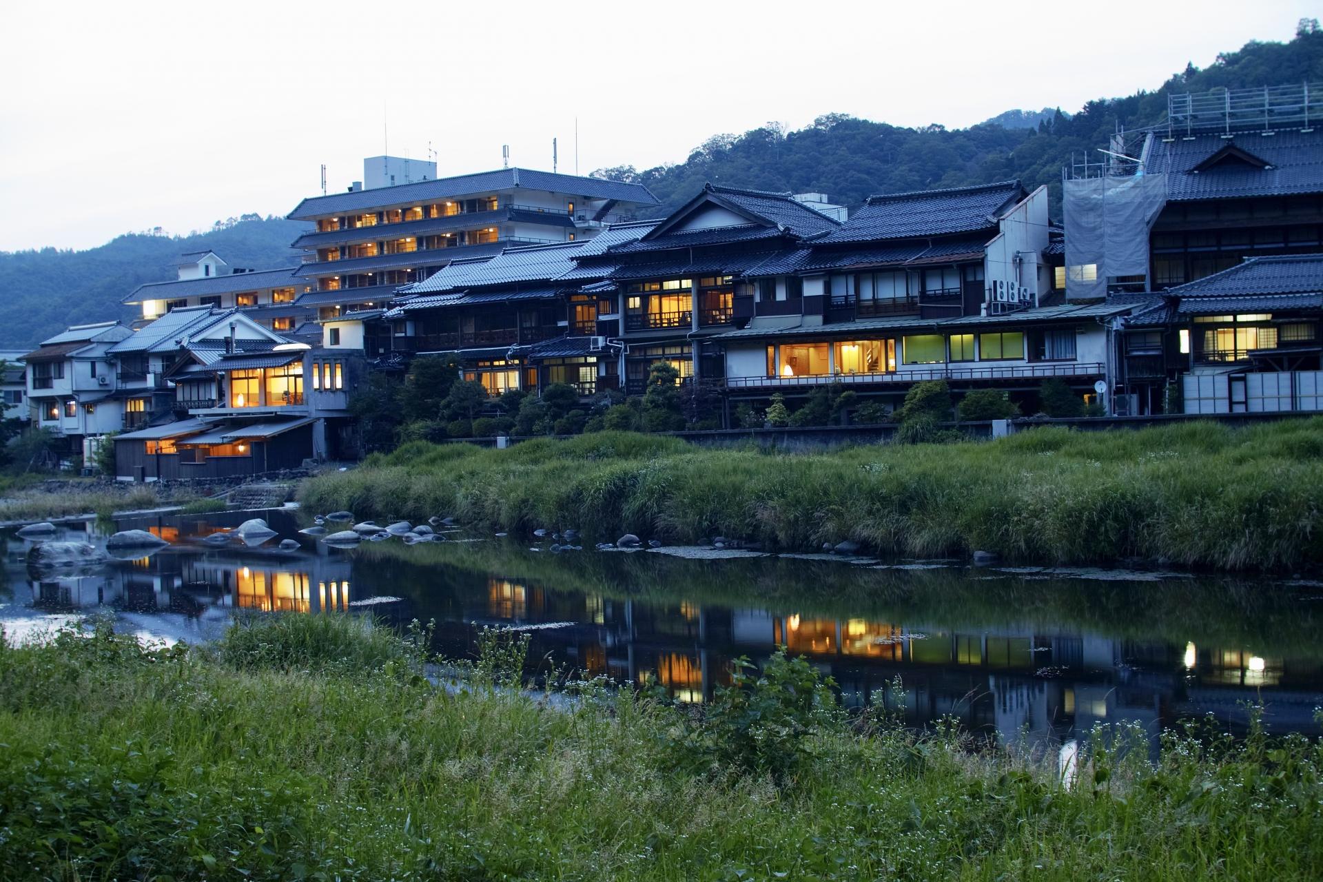 三朝温泉 鳥取県