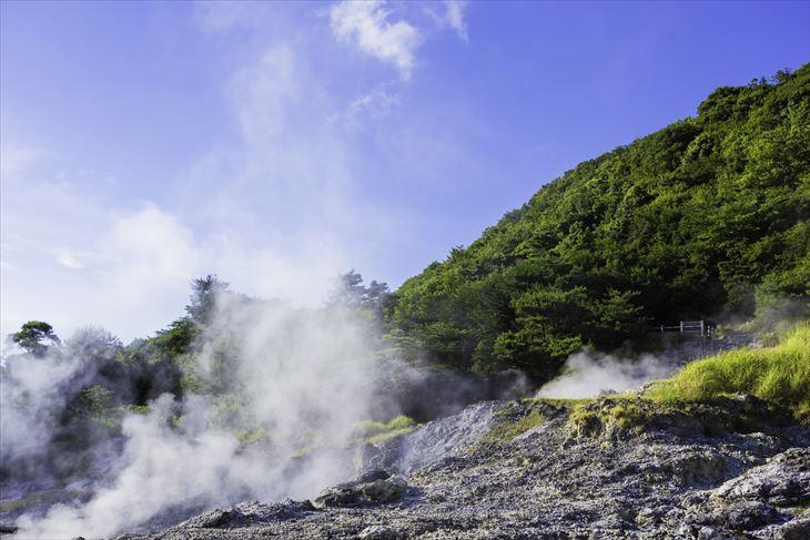 九州 長崎県 雲仙地獄