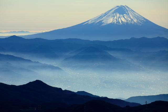 甲府市 山梨県 富士山