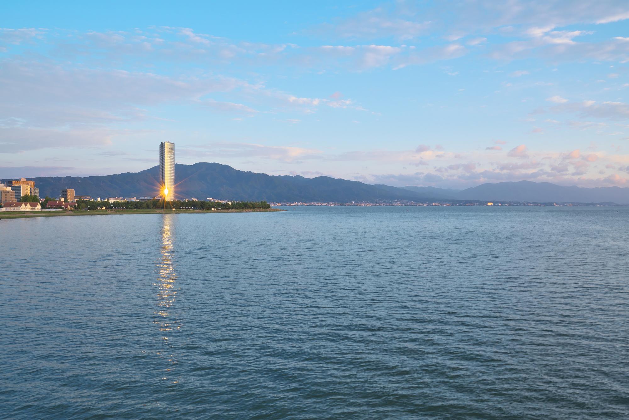 琵琶湖 大津市 滋賀県