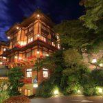 富士屋ホテル 花御殿の夜景