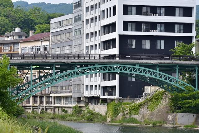 飯坂温泉 架け橋
