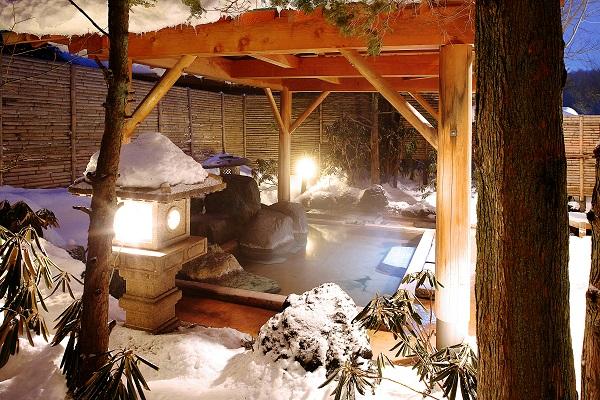 雪見 温泉