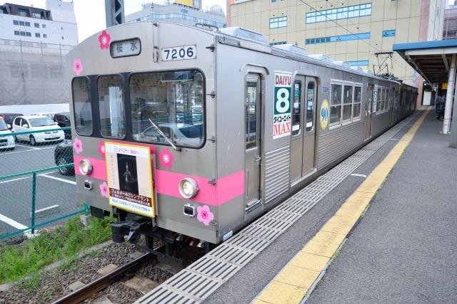 飯坂温泉 飯坂鉄道