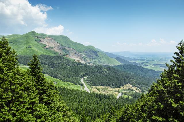 熊本県 大観峰 大自然