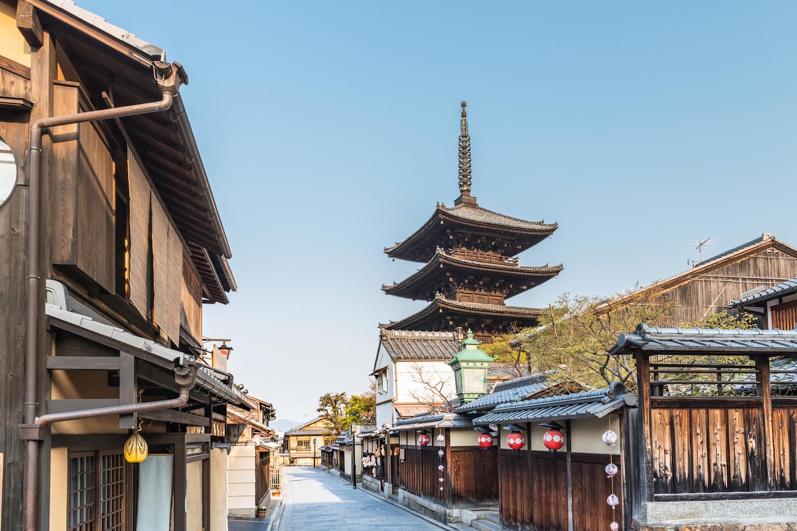 京都府 東山 八坂の塔