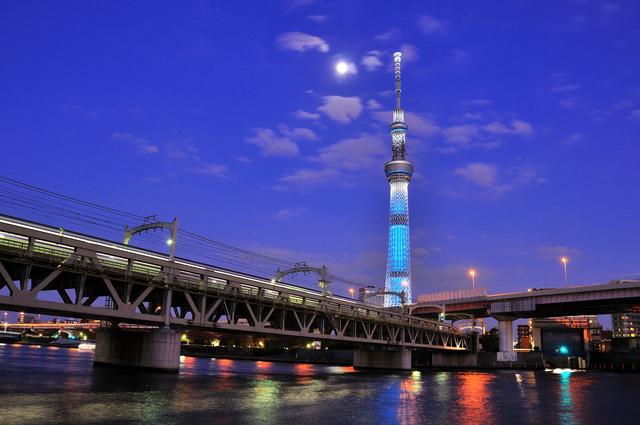 東京スカイツリー 夜景 デート