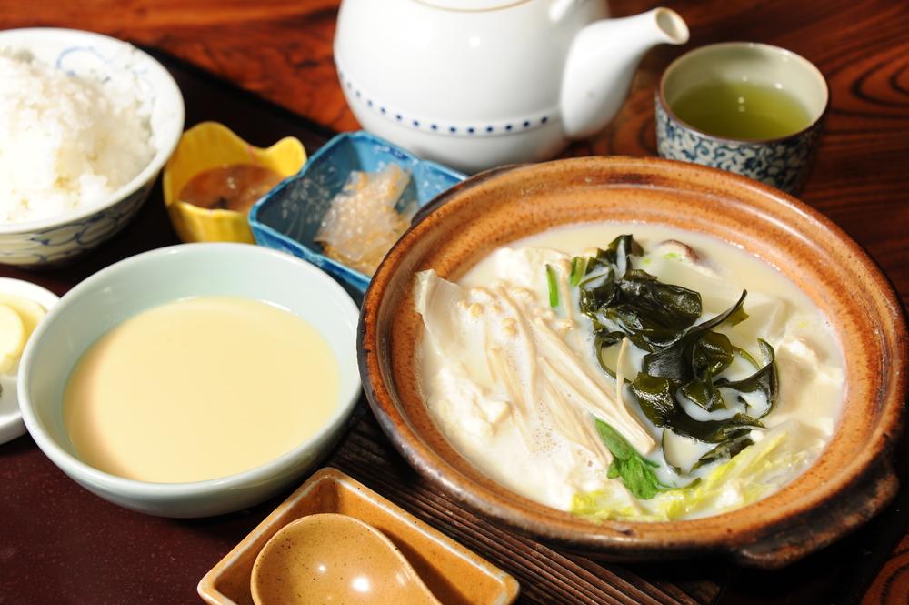 嬉野温泉 温泉湯豆腐