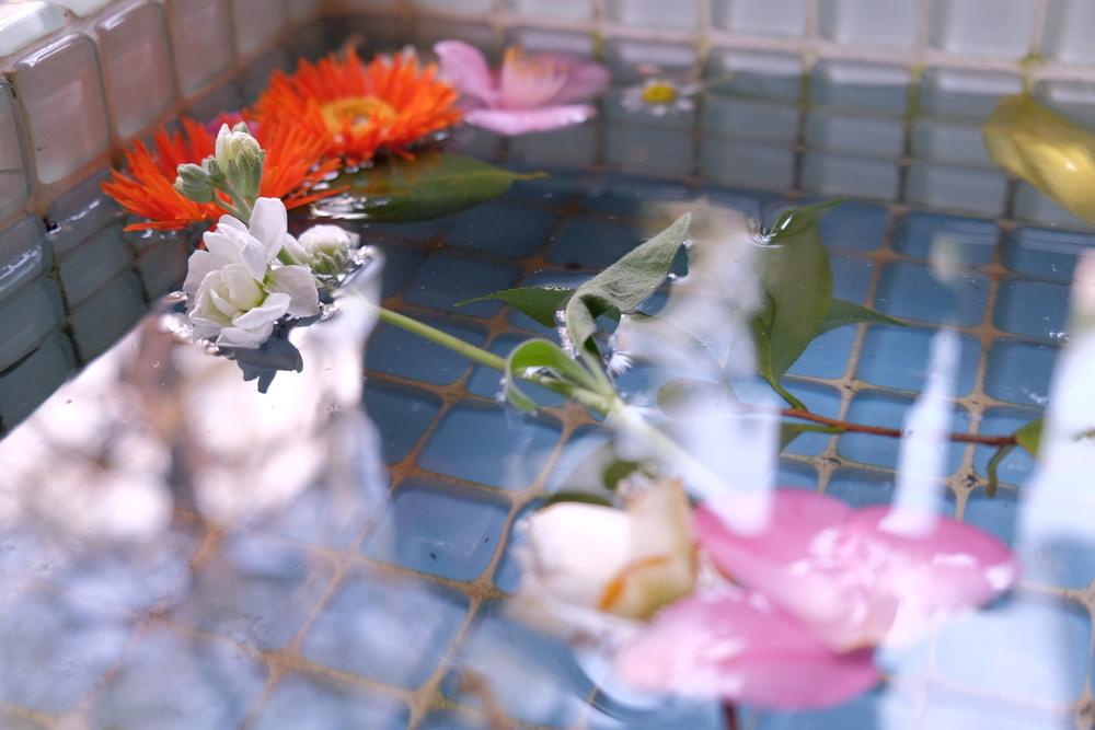 温泉 浴槽