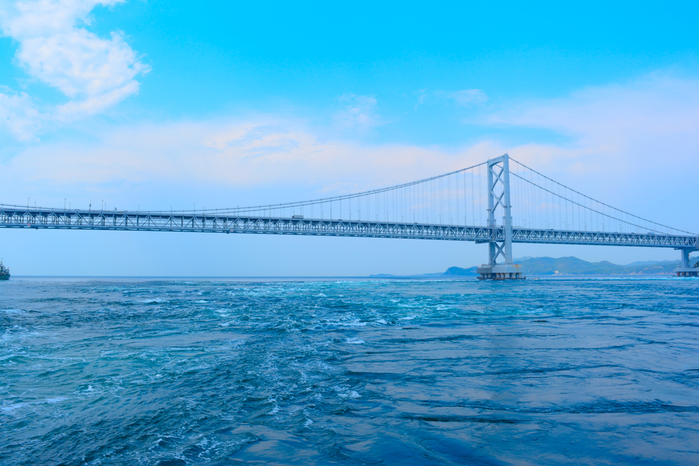 徳島県 大鳴門橋 鳴門