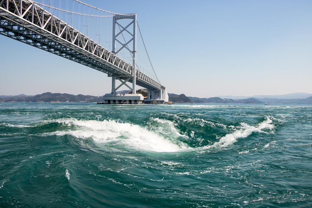徳島県 大鳴門橋 鳴門 海 朝焼け 夕焼け