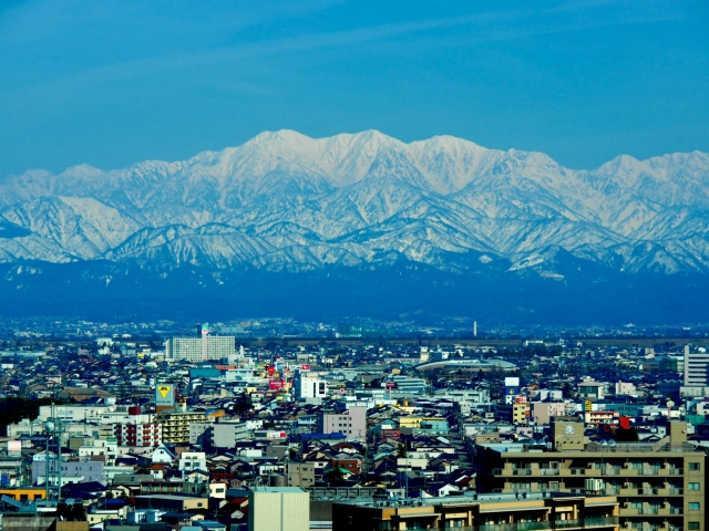 富山 立山連邦