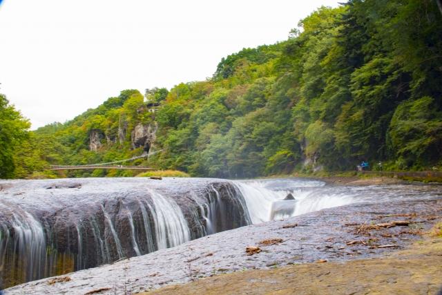 老神温泉 吹割の滝