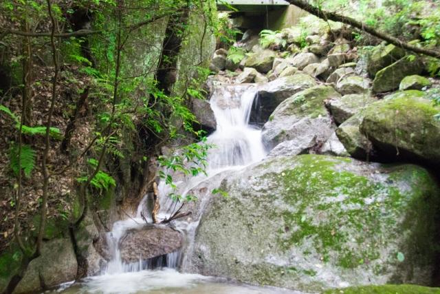 猿投温泉 滝