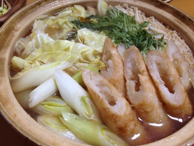 秋田 きりたんぽ鍋