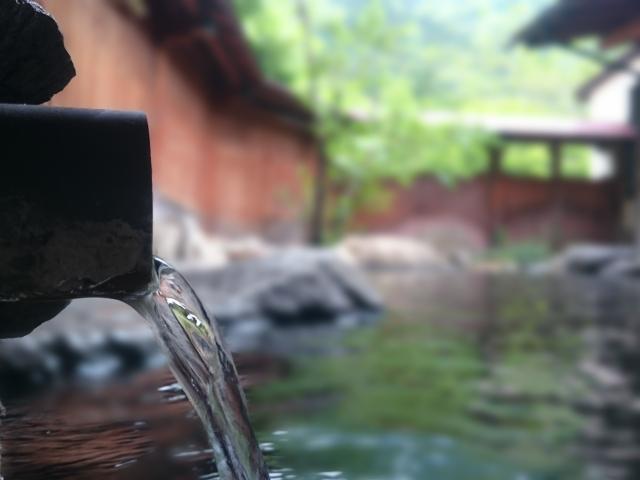 川棚温泉 露天風呂