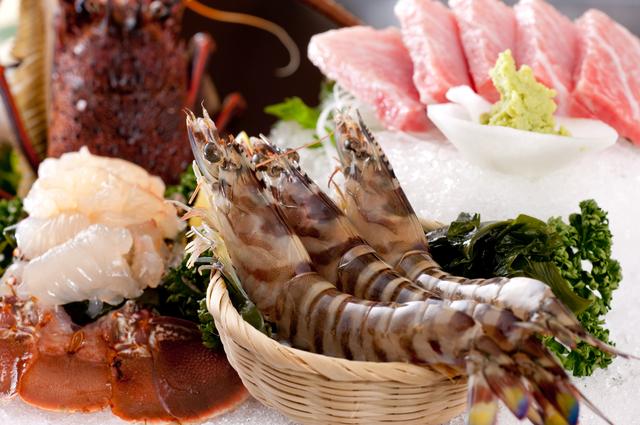 魚介 刺し身 ランチ ディナー 和食