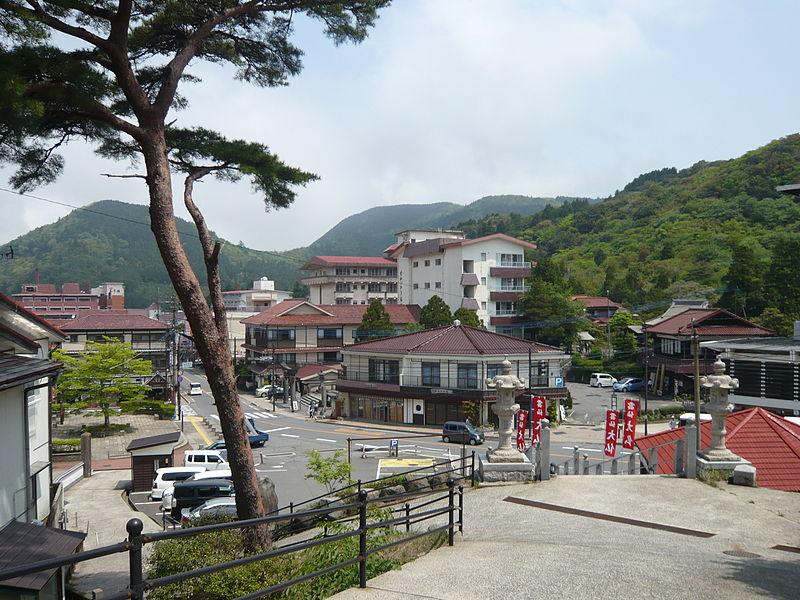 雲仙温泉 温泉街2