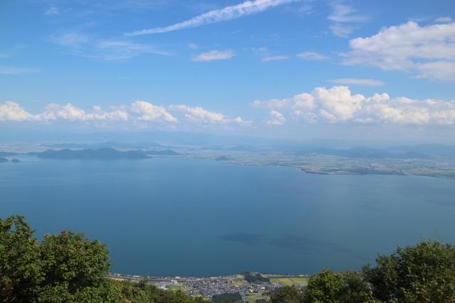 雄琴温泉 琵琶湖