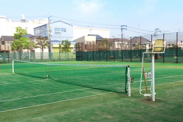 赤沢温泉 テニスコート