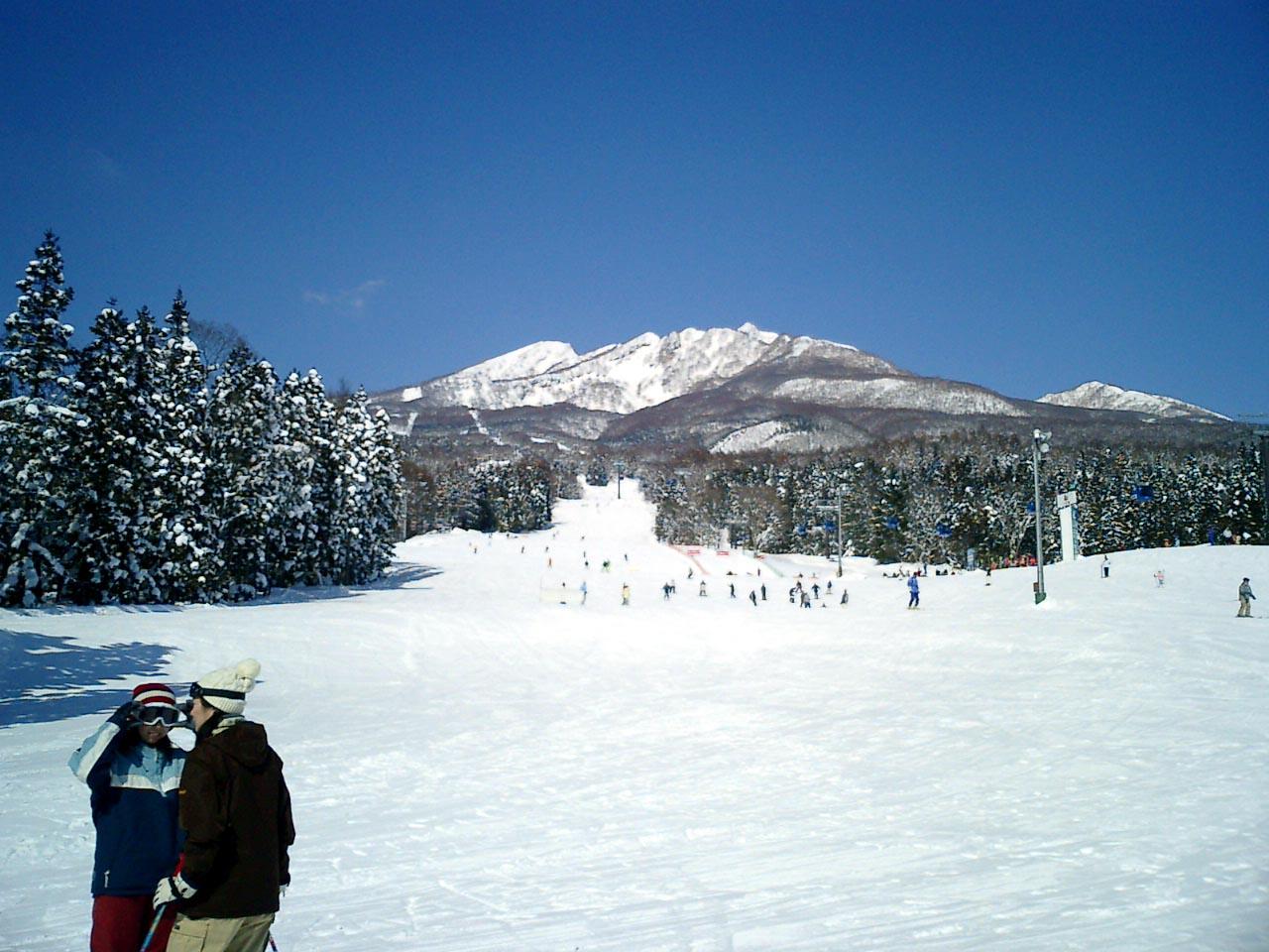 新潟県 妙高高原 妙高杉ノ原スキー場