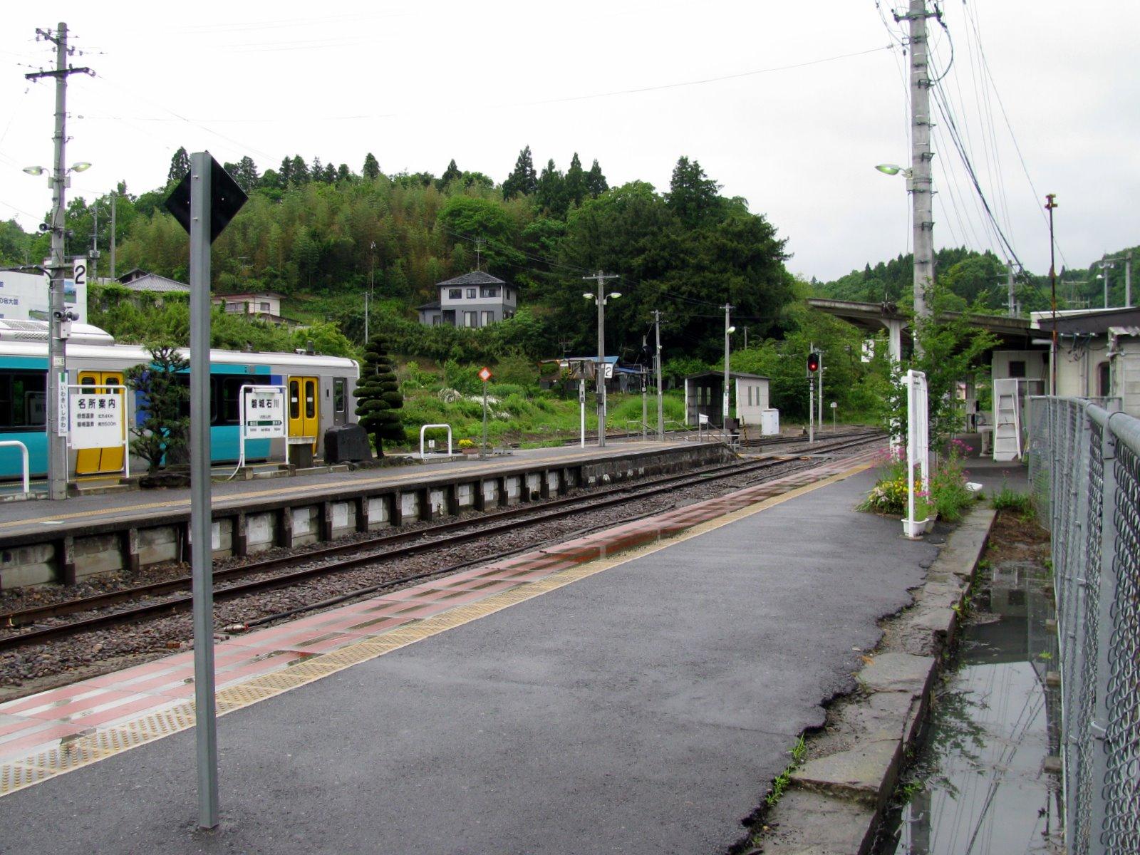 福島県 石川郡 JR磐城石川駅