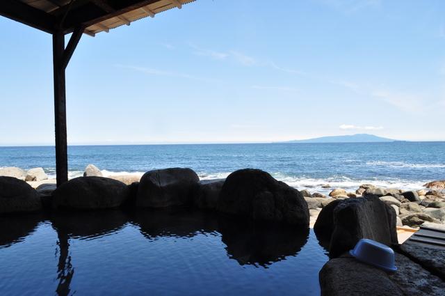 静岡県 北川温泉 黒根岩風呂