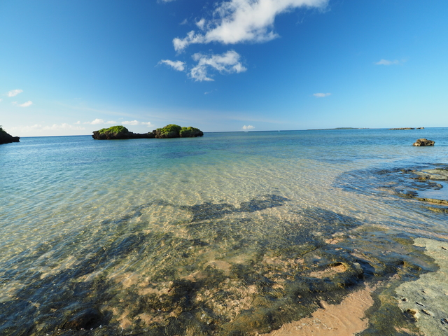 沖縄・西表島の星砂の浜
