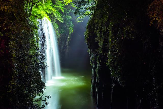 宮崎県 高千穂峡