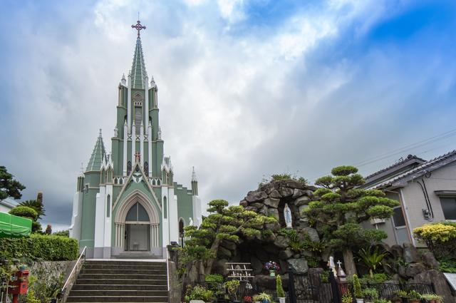 長崎 平戸 平戸ザビエル教会