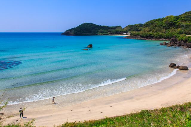 長崎県 平戸 人津久の浜