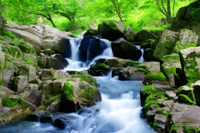 福島県 石川町 山鶏滝