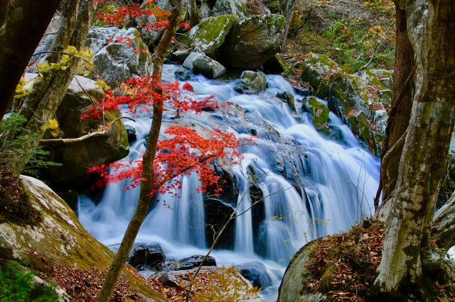 福島県 石川郡 山鶏滝