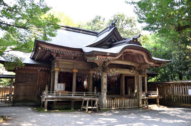 宮崎県 天岩戸神社 西本宮 神楽殿