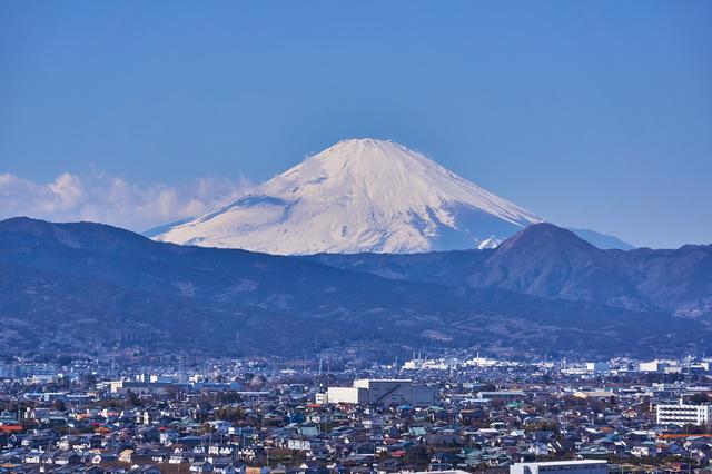 神奈川県 小田原 富士山