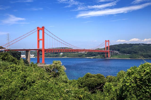 長崎県 平戸 平戸大橋