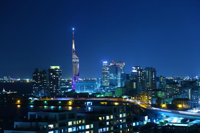 福岡県福岡市 夜景