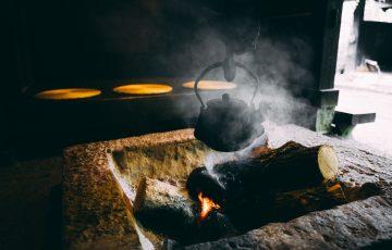 温泉旅館 囲炉裏