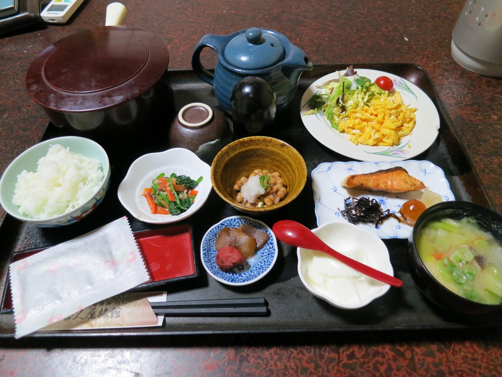 喜久屋旅館の朝食