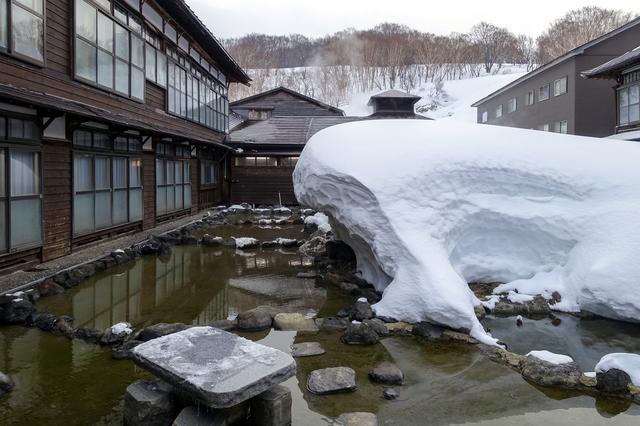 青森県 酸ヶ湯温泉 酸ヶ湯温泉旅館