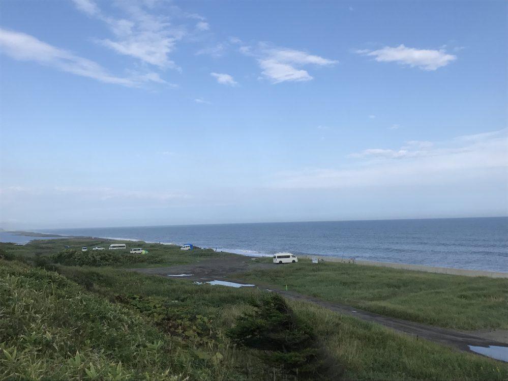 晩成温泉 海岸 北海道