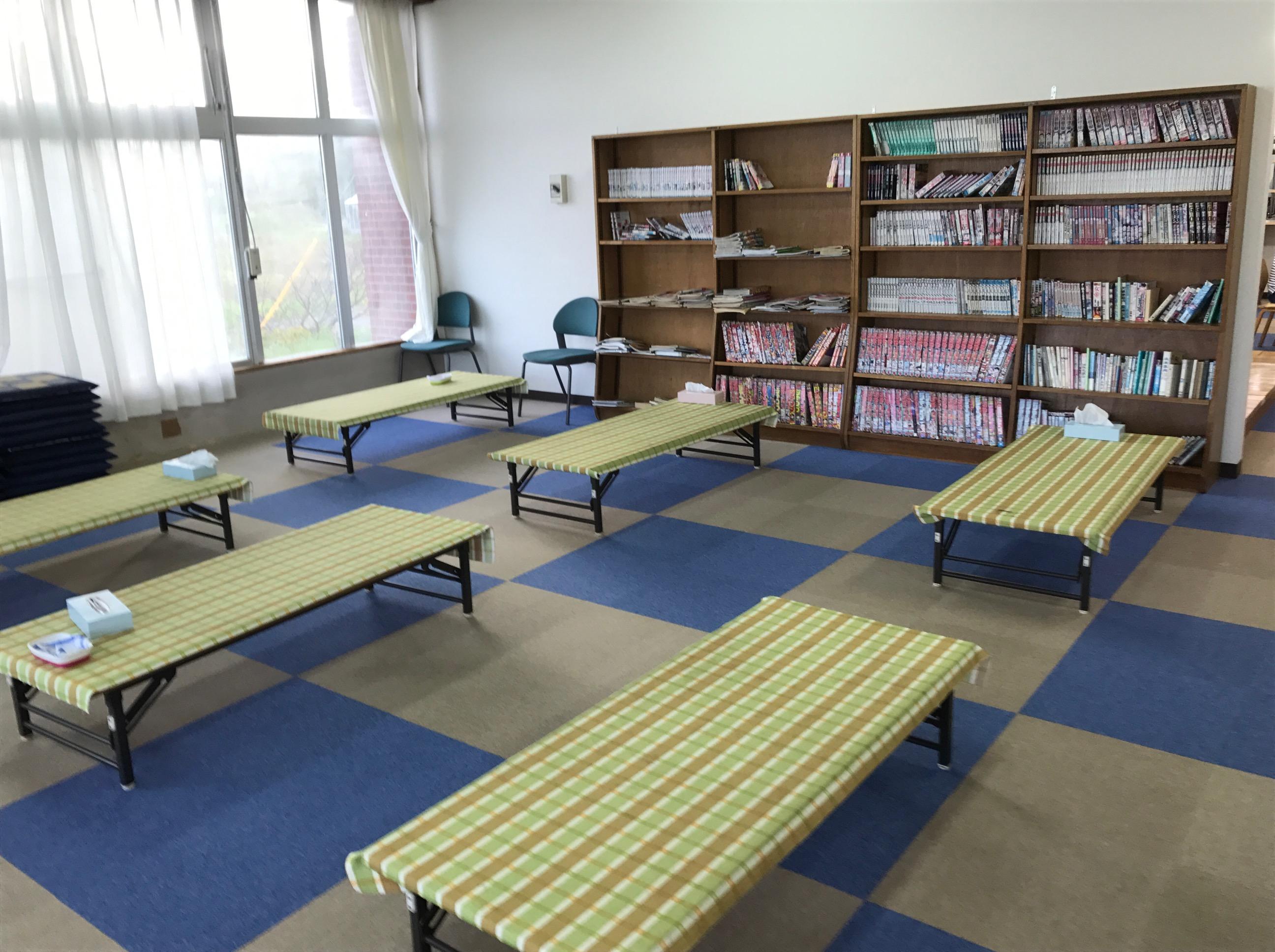 晩成温泉 北海道 休憩室