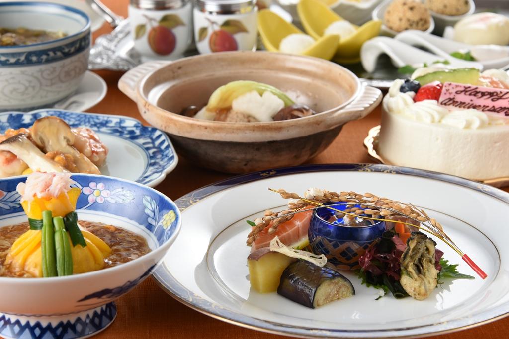 グランドプリンスホテル広島_夕食「李芳」