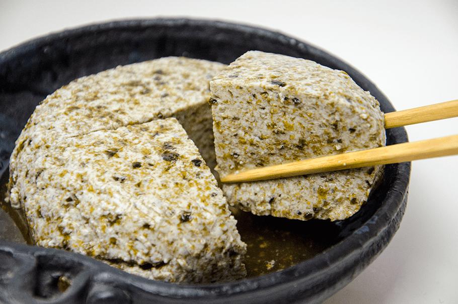 湯どうふガーデン_のり豆腐