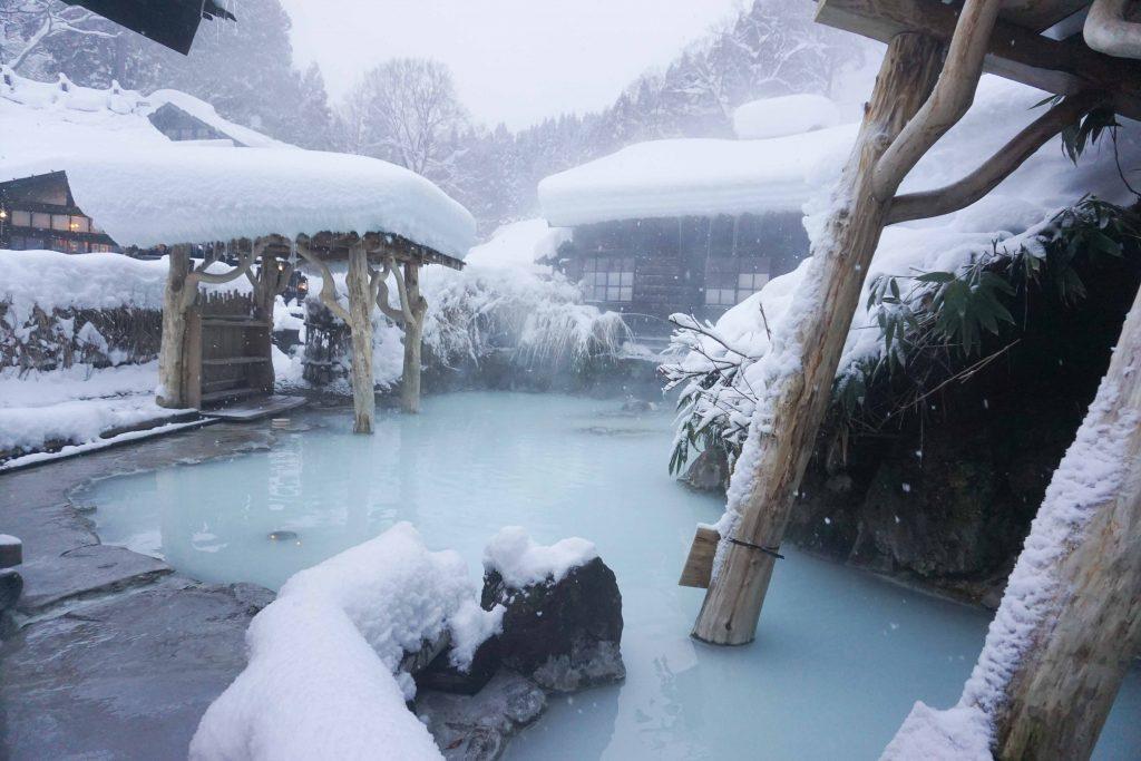 乳頭温泉郷 鶴の湯温泉 秋田県 温泉 鶴の湯 混浴 露天風呂