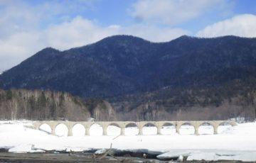 IMG 6595 360x230 - あの絶景も見納め!?冬のタウシュベツ川橋梁は路線バス旅がおすすめ!北海道・ぬかびら源泉郷